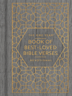 The One Year Book of Best-Loved Bible Verses Devotional
