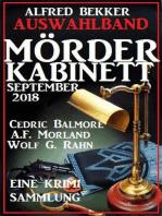 Auswahlband Mörder-Kabinett September 2018