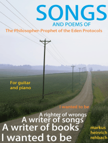 Songs and Poems of the Philosopher Prophet of the Eden Protocols