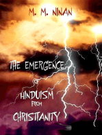 Emergence of Hinduism from Christianity
