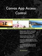 Canvas App Access Control Standard Requirements