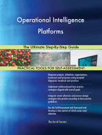 Operational Intelligence Platforms The Ultimate Step-By-Step Guide