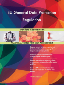 EU General Data Protection Regulation Standard Requirements