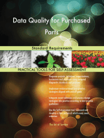 Data Quality for Purchased Parts Standard Requirements
