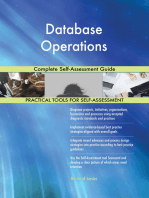 Database Operations Complete Self-Assessment Guide