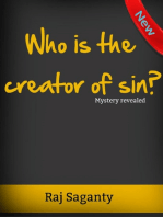 Who Is The Creator Of Sin?