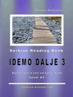 "Serbian Reading Book ""Idemo dalje 3"""