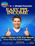 Easy PPL Income - How I Make $1K Per Week From Pay Per Lead Programs