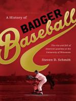 A History of Badger Baseball