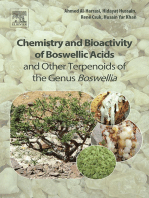Chemistry and Bioactivity of Boswellic Acids and Other Terpenoids of the Genus Boswellia