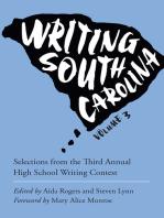 Writing South Carolina, Volume 3