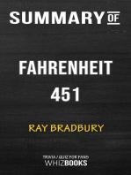 Summary of Fahrenheit 451 by Ray Bradbury | Trivia/Quiz for Fans