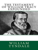 The Testament of William Tracy Expounded
