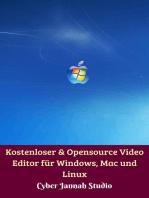 Kostenloser & Opensource Video Editor für Windows, Mac und Linux
