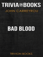 Bad Blood by John Carreyrou (Trivia-On-Books)
