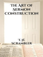 The Art of Sermon Construction