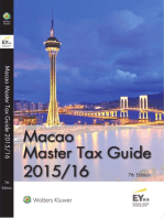 Macao Master Tax Guide 2015/16