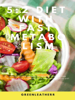 5:2 Diet With Fast Metabolism