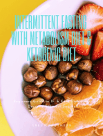 Intermittent Fasting With Metabolism Diet & Ketogenic Diet