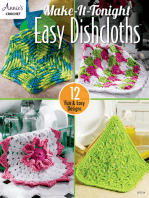 Make-It-Tonight Easy Dishcloths