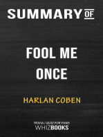 Summary of Fool Me Once by Harlan Coben | Trivia/Quiz for Fans