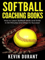 Softball Coaching Books:How to learn softball skills and drills in 60 minutes and steps to success!
