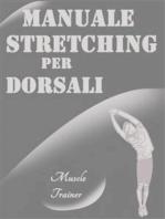Manuale Stretching per Dorsali