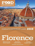 Florence - 2019 - The Food Enthusiast's Complete Restaurant Guide