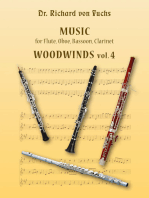 Music for Flute, Oboe, Bassoon, Clarinet, Woodwinds Volume 4