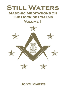Still Waters: Masonic Meditations on the Book of Psalms
