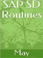 SAP SD Routines