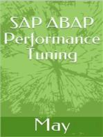 SAP ABAP Performance Tuning