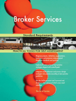 Broker Services Standard Requirements
