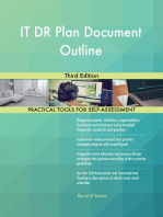 IT DR Plan Document Outline Third Edition