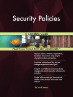 Security Policies A Complete Guide