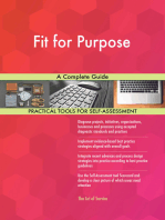 Fit for Purpose A Complete Guide