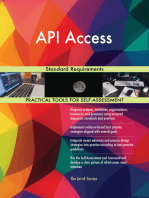 API Access Standard Requirements