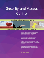 Security and Access Control Complete Self-Assessment Guide