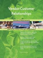 Vendor-Customer Relationships Standard Requirements