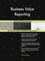 Business Value Reporting Standard Requirements