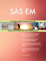 SAS EM Complete Self-Assessment Guide