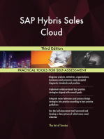 SAP Hybris Sales Cloud Third Edition