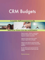 CRM Budgets Complete Self-Assessment Guide