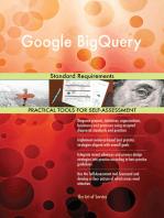 Google BigQuery Standard Requirements