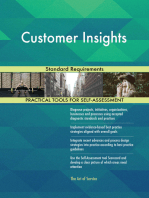 Customer Insights Standard Requirements