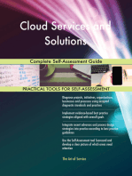 Cloud Services and Solutions Complete Self-Assessment Guide