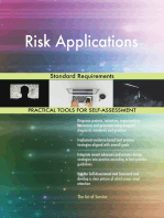 Risk Applications Standard Requirements