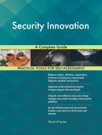 Security Innovation A Complete Guide