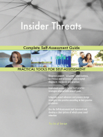 Insider Threats Complete Self-Assessment Guide