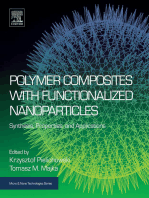 Polymer Composites with Functionalized Nanoparticles: Synthesis, Properties, and Applications